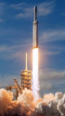 Maiden launch of Falcon Heavy rocket